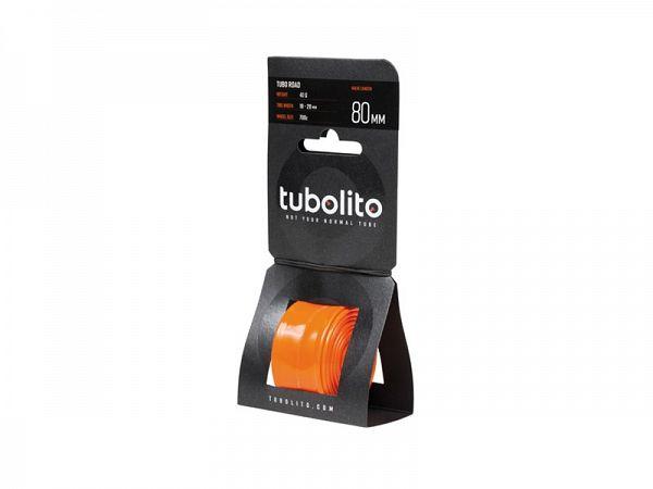 Tubolito Tube-Road 700 x 18-28C Cykelslange, 80mm Racerventil