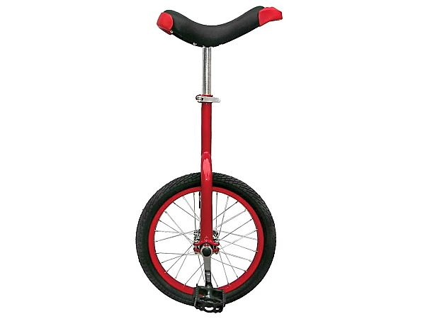 "Unicykel 16"" Red - Ethjulet Cykel - 2020"