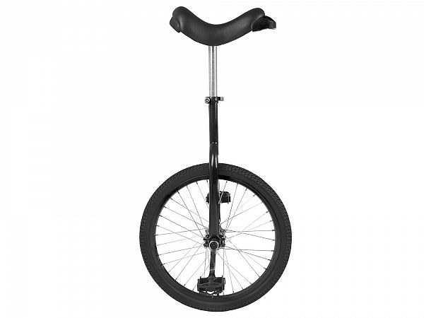 "Unicykel 20"" Black - Ethjulet Cykel - 2020"