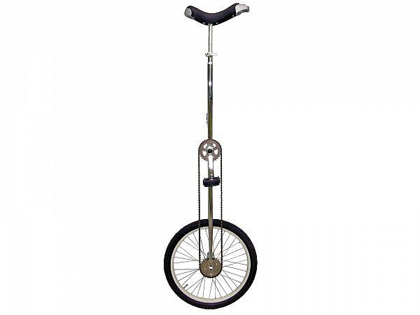 "Unicykel 20"" High Silver - Ethjulet Cykel - 2020"