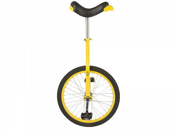 """Unicykel 20"""" Yellow - Ethjulet Cykel - 2020"""