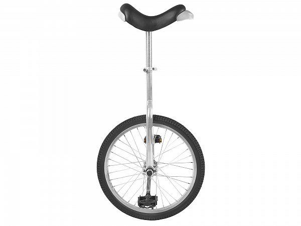 """Unicykel 24"""" Silver - Ethjulet Cykel - 2020"""