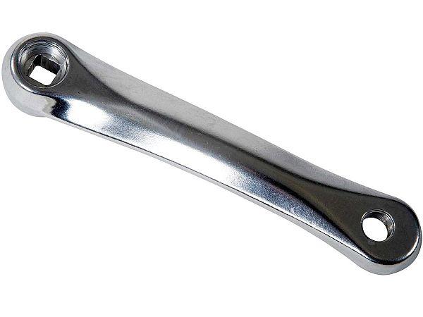 Universal Apex Venstre Pedalarm, sølv
