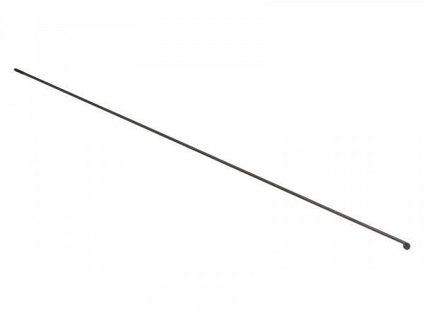 Universal Sorte Rustfri Eger, 2,00mm
