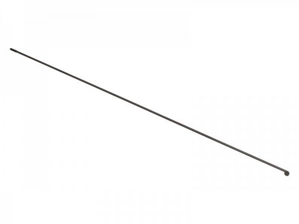 Universal sorte Rustfri Eger, 2,34mm