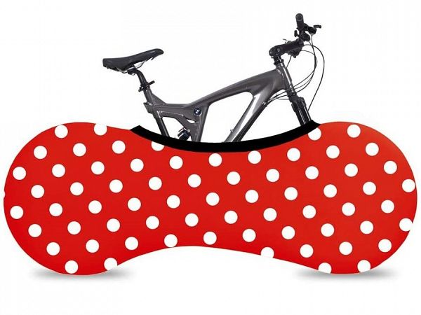 Velosock Indoor Bike Cover, Ladybird