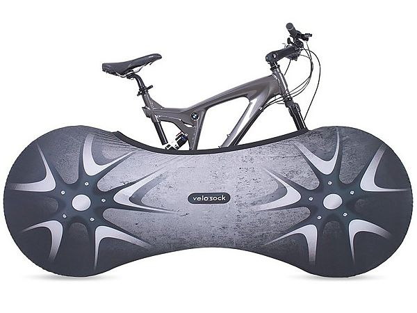 Velosock Indoor Bike Cover, Silverbird