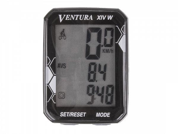 Ventura XIV Trådløs Cykelcomputer, 14 funktioner
