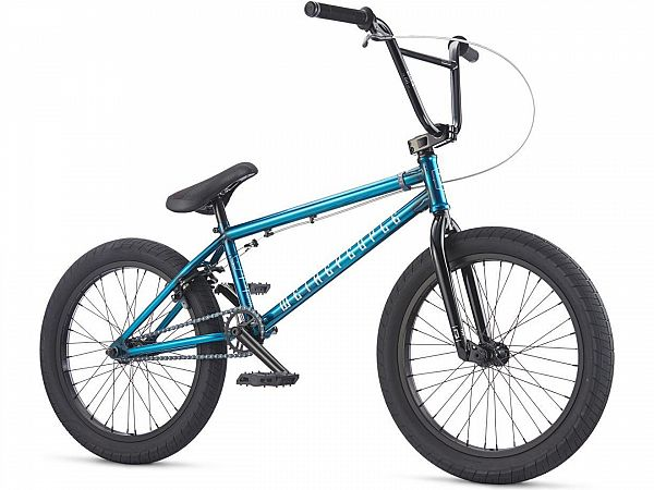 Wethepeople Justice 20.5 Translucent Teal - Freestyle BMX - 2017