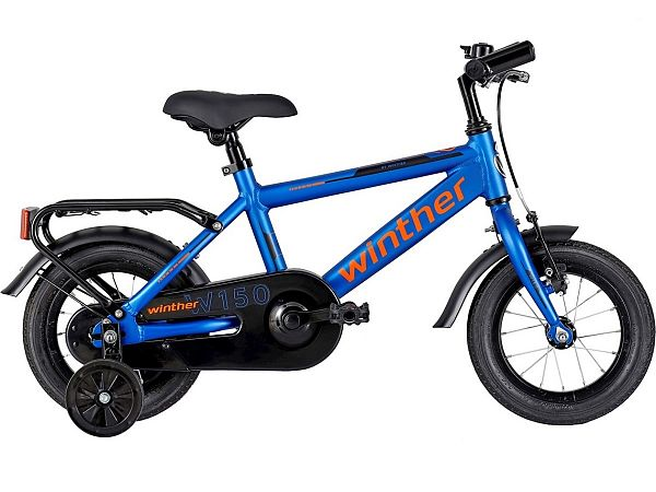 "Winther 150 12"" Blue - Børnecykel - 2022"