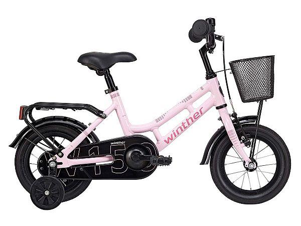 "Winther 150 12"" lyserød - Pigecykel - 2019"