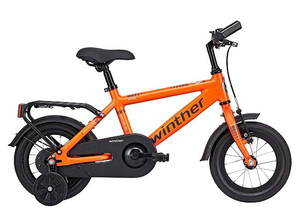 "Winther 150 12"" orange - Børnecykel - 2019"