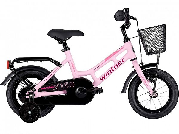 """Winther 150 12"""" Pink - Pigecykel - 2022"""