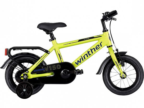"Winther 150 12"" Yellow - Børnecykel - 2021"