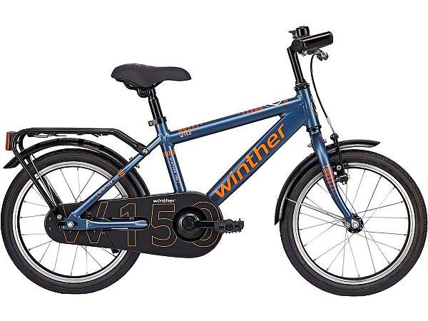 "Winther 150 16"" blå - Børnecykel - 2019"
