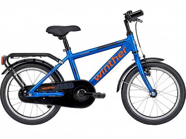 "Winther 150 16"" Blue - Børnecykel - 2022"