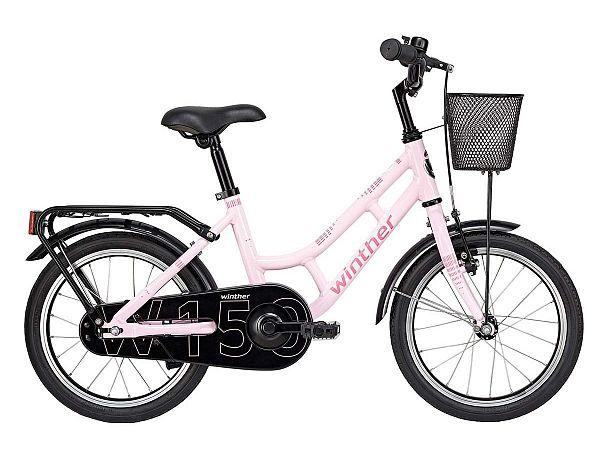 "Winther 150 16"" lyserød - Pigecykel - 2019"