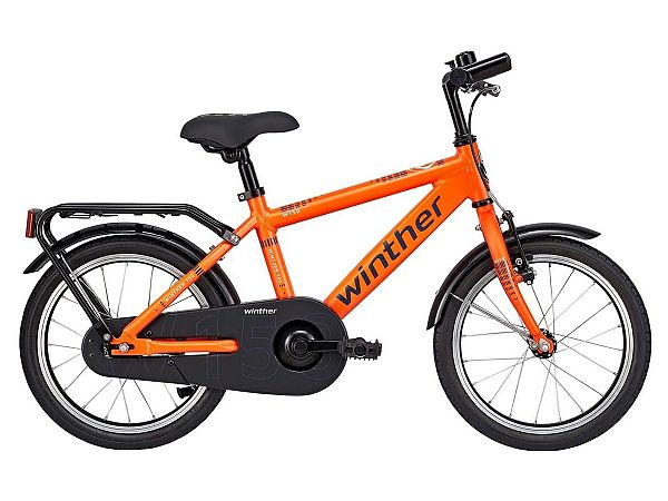 "Winther 150 16"" orange - Børnecykel - 2019"