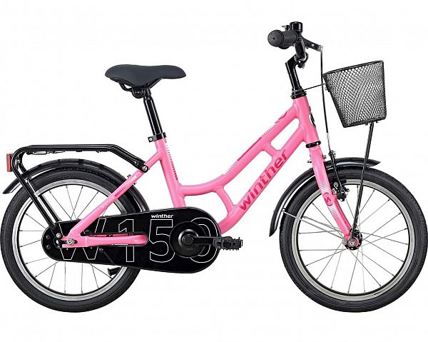 "Winther 150 16"" Pink - Pigecykel - 2020"
