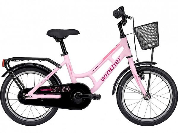 """Winther 150 16"""" Pink - Pigecykel - 2022"""