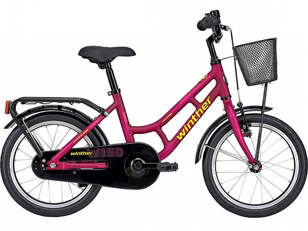"Winther 150 16"" Purple - Pigecykel - 2021"