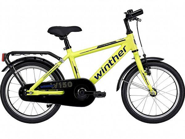 "Winther 150 16"" Yellow - Børnecykel - 2021"