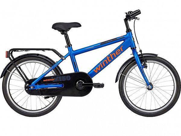 "Winther 150 18"" Blue - Børnecykel - 2021"