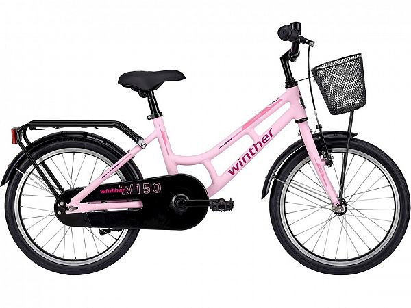 "Winther 150 18"" Pink - Pigecykel - 2021"