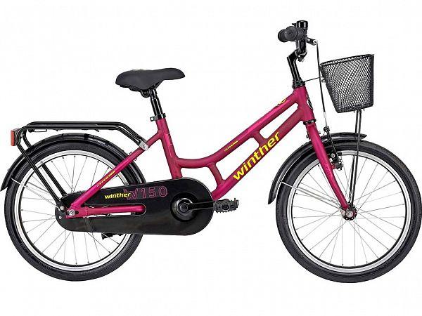 "Winther 150 18"" Purple - Pigecykel - 2022"