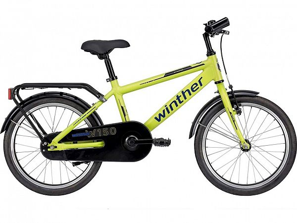 "Winther 150 18"" Yellow - Børnecykel - 2021"