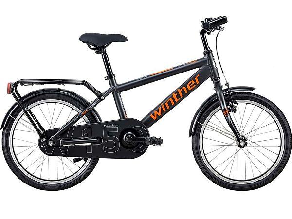 "Winther 150 Alu 18"" Grey - Børnecykel - 2020"