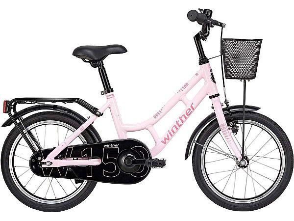 "Winther 150 Alu 18"" lyserød - Pigecykel - 2019"