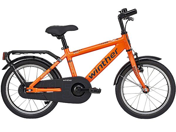"Winther 150 Alu 18"" orange - Børnecykel - 2019"