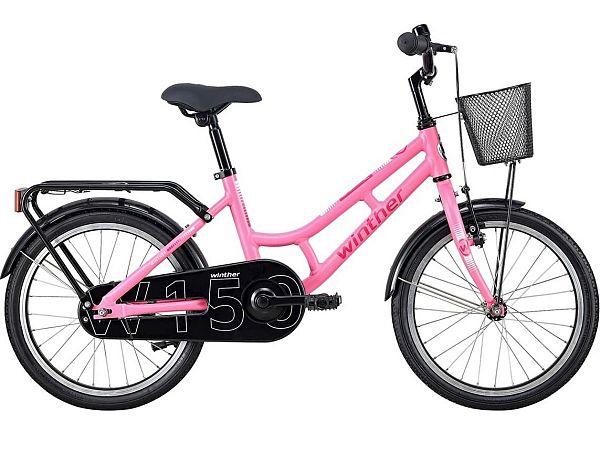 "Winther 150 Alu 18"" Pink - Pigecykel - 2020"