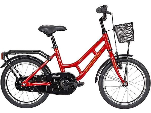 "Winther 150 Alu 18"" rød - Pigecykel - 2019"