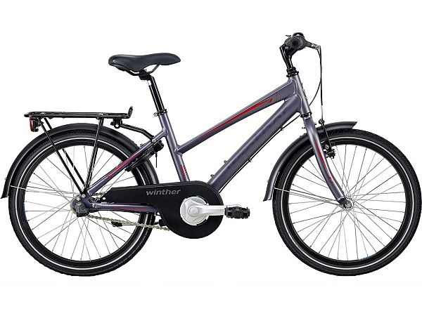 "Winther 300 Alu 20"" Grey - Pigecykel - 2020"