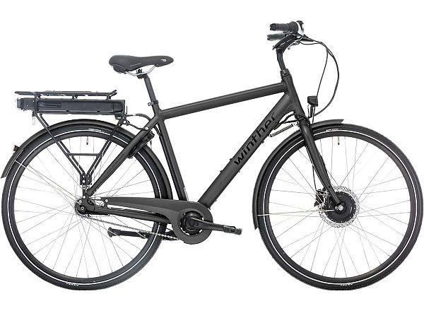 Winther Black Superbe 1 - Elcykel - 2020