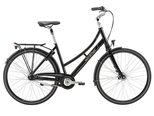 Winther Kent grå - Damecykel - 2018