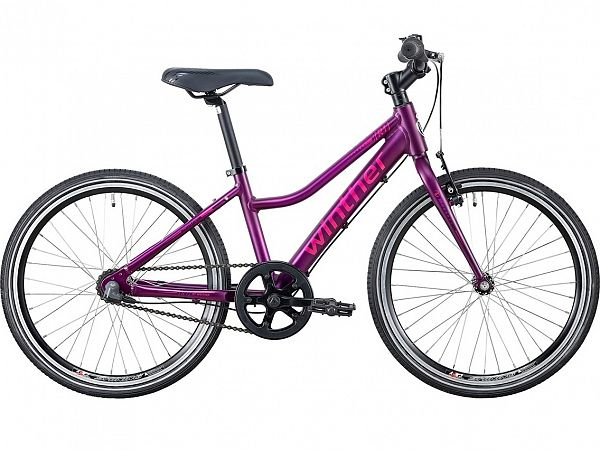 "Winther R1 Sport 20"" Purple - Pigecykel - 2020"