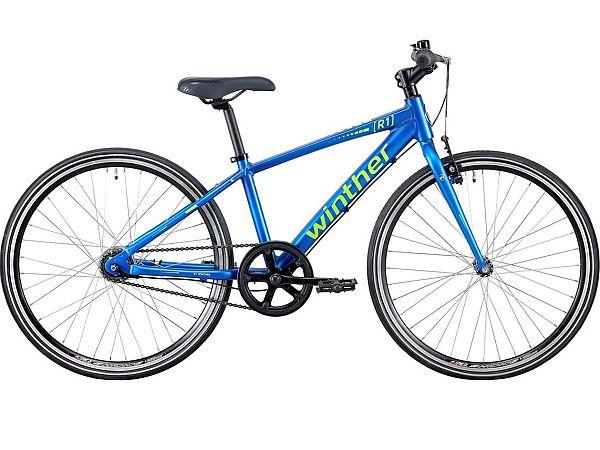 "Winther R1 Sport 24"" Blue - Børnecykel - 2020"