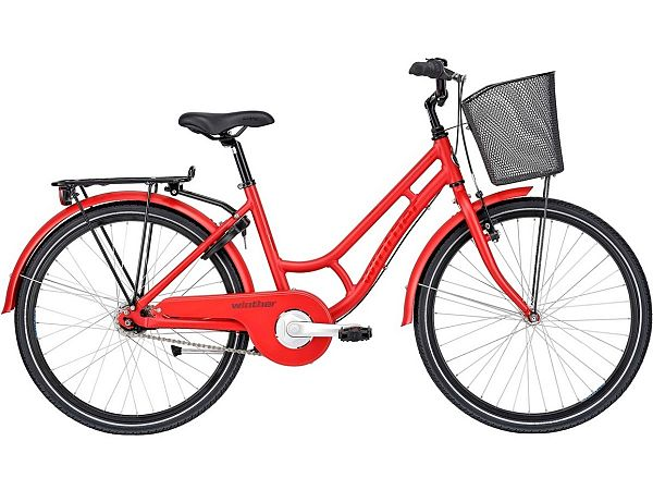 """Winther Red 250 Granny 24"""" - Pigecykel - 2021"""