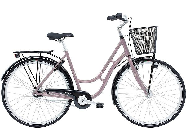 Winther Shopping Classic Pink - Damecykel - 2022
