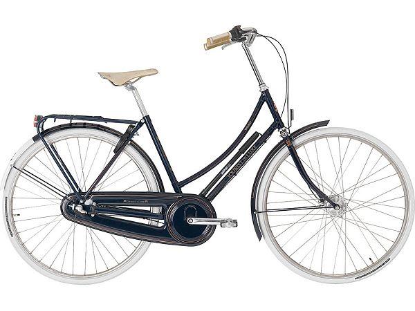 Winther Tourist de Luxe 3 Blue - Damecykel - 2019