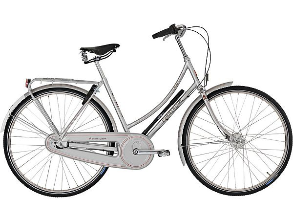 Winther Tourist de Luxe 3 sølv - Damecykel - 2019