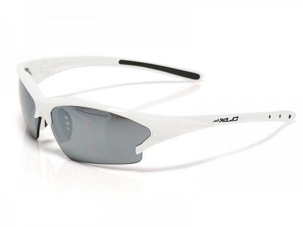 XLC Jamaica hvide Solbriller, 3 Linser