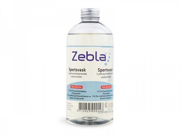 Zebla Sports Wash No Parfume Vaskemiddel, 500ml