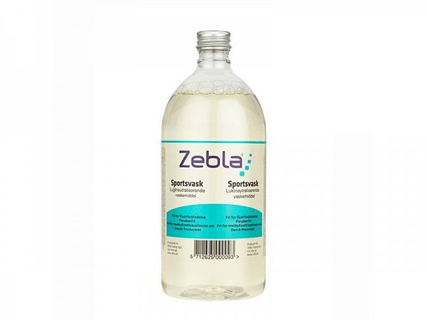 Zebla Sports Wash Vaskemiddel, 1000ml