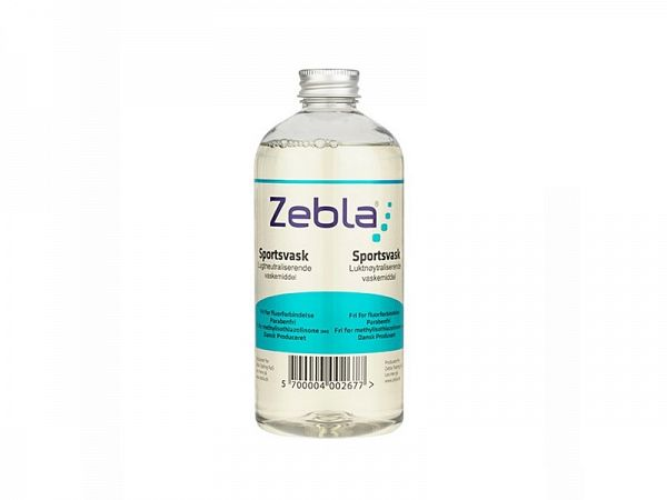 Zebla Sports Wash Vaskemiddel, 500ml