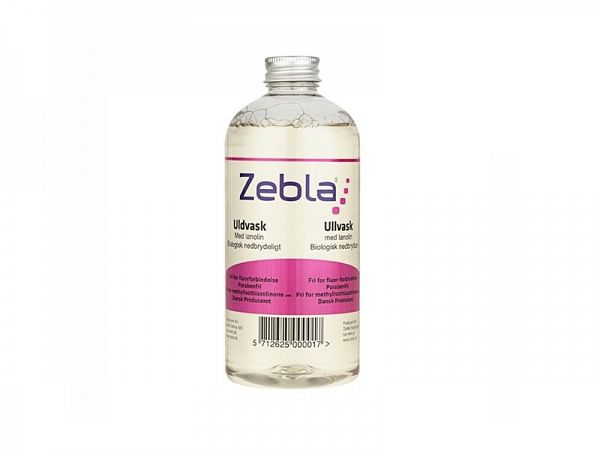 Zebla Wool Vaskemiddel, 500ml
