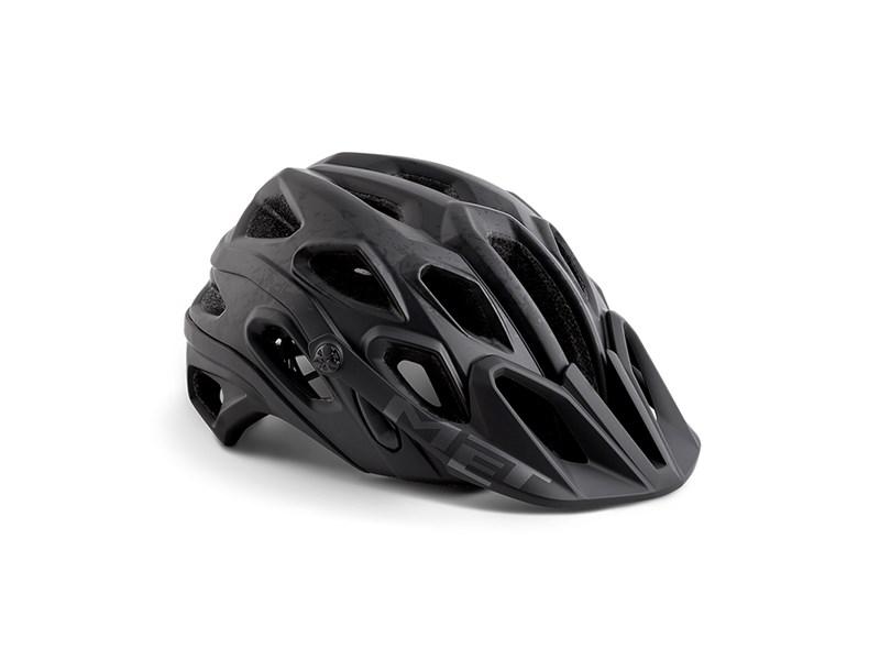 MET Lupo Cykelhjelm, Black